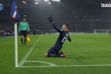 Julian Draxler was the hero for PSG on Wednesday night versus Metz. DUGOUT