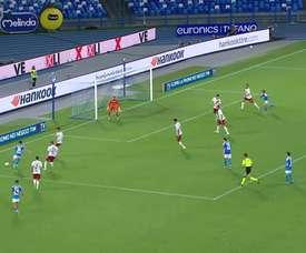 VIDÉO: Le superbe but d'Insigne contre l'AS Roma. Dugout