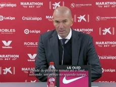 Zidane enaltece atuação do Real Madrid em vitória sobre o Sevilla. DUGOUT