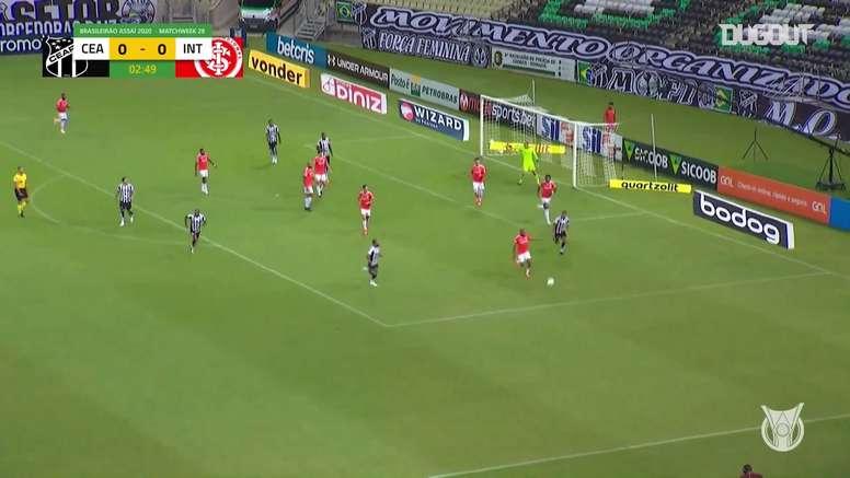 Internacional took home the three points against Ceara. DUGOUT