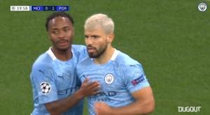 El City sale a tres goles por partido en Europa este curso. Dugout