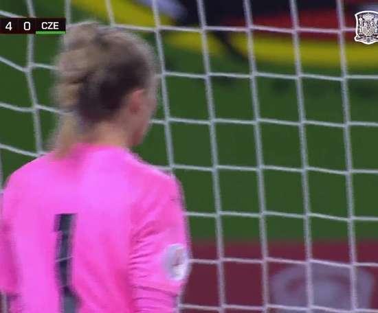 Le superbe but d'Alexia Putellas contre la République tchèque. Dugout