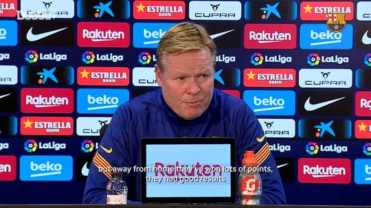 Ronald Koeman: 'We need to win all the games until the end of the year'. DUGOUT