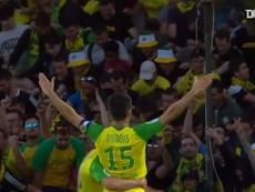 VIDÉO: Le but de la victoire de Léo Dubois contre Strasbourg. Dugout