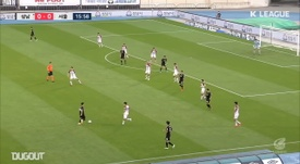 Yun Ju-Tae's brace gave Seoul the three points at Seongnam. DUGOUT