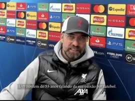 Klopp falou sobre Diego Armando Maradona. DUGOUT