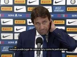 Conte alabó a Vidal. DUGOUT
