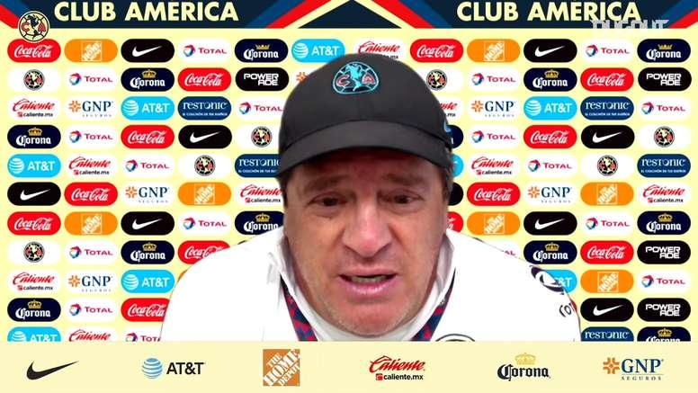 VÍDEO: el 'Piojo' Herrera repetirá alineación ante León. Captura/DUGOUT