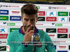 VIDEO: Gerard Piqué: 'We will fight until the end'. DUGOUT