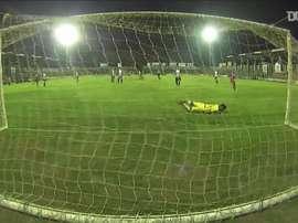 Óscar Acevedo anotó el tanto de la victoria. DUGOUT