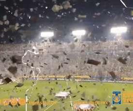 VIDEO: Impressive atmosphere at Tigres' Estadio Universitario. DUGOUT