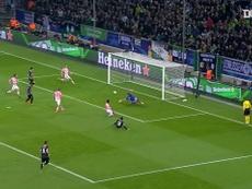 Gladbach's best goals against Italians. DUGOUT