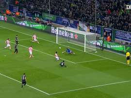 Gladbach's best goals against Italians. DUGOUT