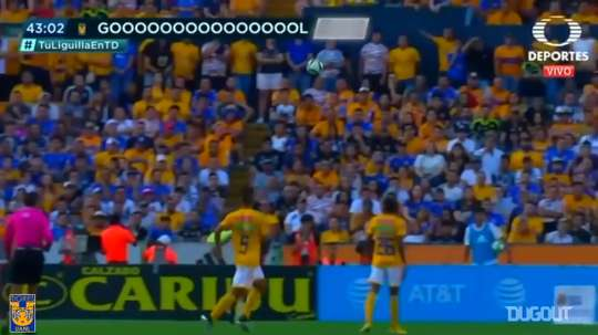 Pizarro scored for Tigres. DUGOUT