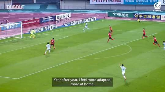 Junior Negao has scored 25 times for Ulsan this season. DUGOUT