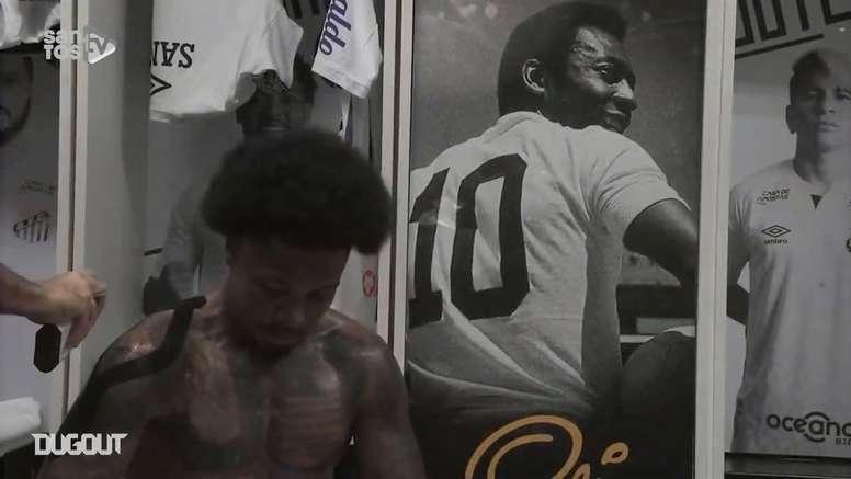Santos faz homenagem pelo Dia da Consciência Negra. DUGOUT