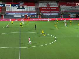 Lisandro Semedo scored as Sittard drew 2-2 at Emmen. DUGOUT