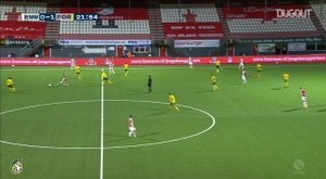 Lisandro Semedo scored as Sittard drew 2-2 at Emmen. DUGOUT