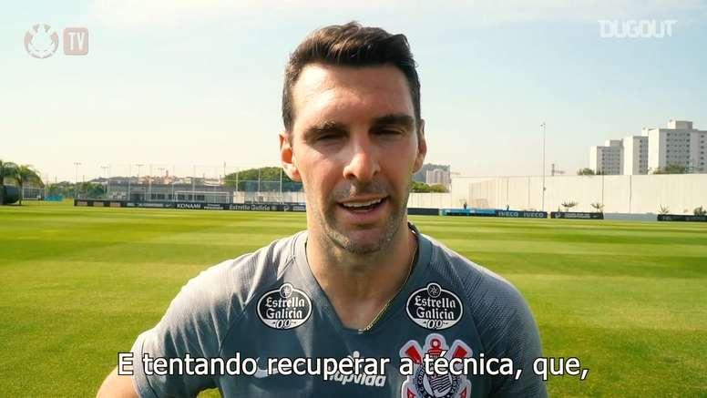 Boselli fala sobre chegada de Jô no Corinthians. DUGOUT