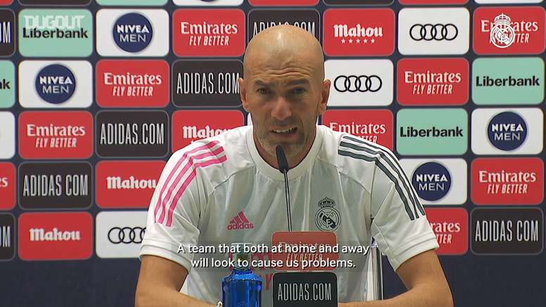 Zidane insists that his players are motivated. DUGOUT