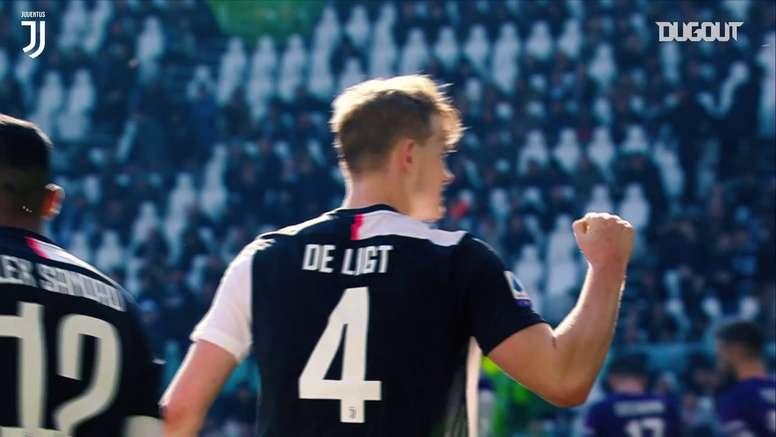 Solidez defensiva de De Ligt na Juventus em 2019/20. DUGOUT