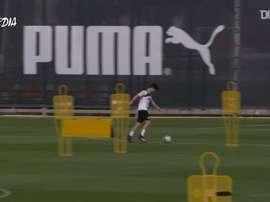 Valencia volta aos treinos. DUGOUT