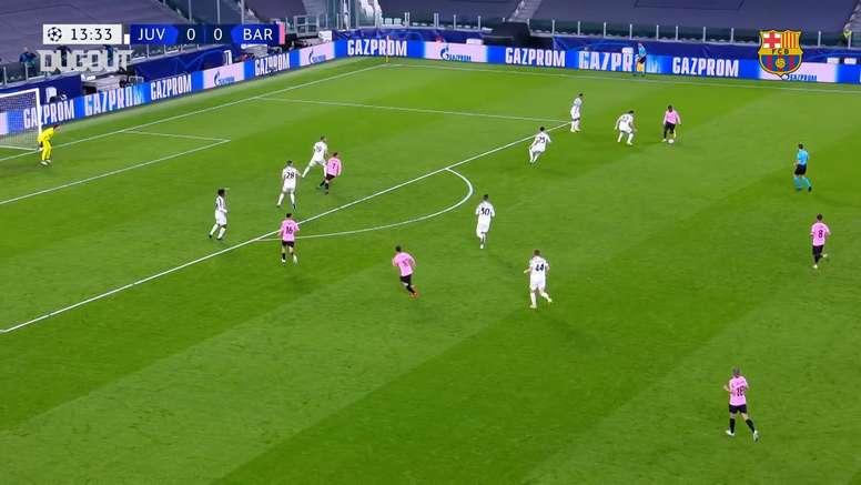 Barcelona won 2-0. DUGOUT