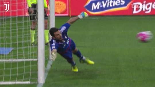 Il meglio di Buffon contro il Milan. Dugout