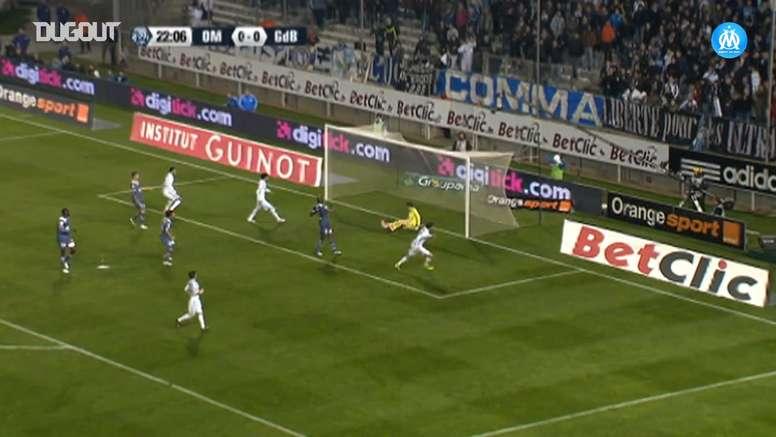 Andre-Pierre Gignac got four goals versus Bordeaux while he was at Marseille. DUGOUT