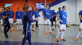 Zenit won 0-4 at ten man CSKA Moscow last Saturday. DUGOUT
