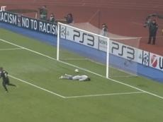 Valbuena le marcó este gol al Spartak de Moscú. DUGOUT