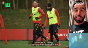 Bruno Fernandes on Marcus Rashford's initiatives. DUGOUT