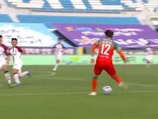 Estos son los mejores goles anotados este curso en la Liga Coreana. Dugout