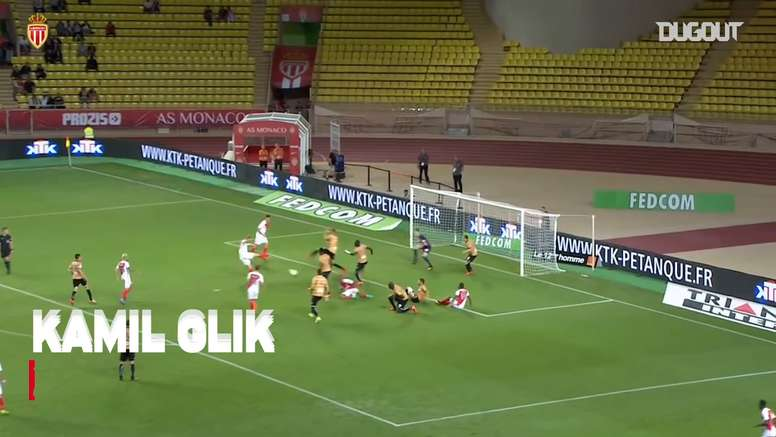 Monaco have scored some great goals against Angers in the past. DUGOUT