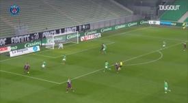 Moise Kean got PSG a point at St Etienne. DUGOUT