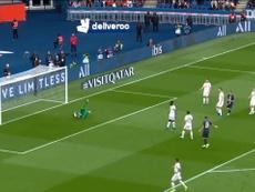 VIDÉO : Le premier but de Pablo Sarabia avec le Paris Saint-Germain. DUGOUT