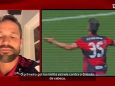 Diego Ribas escolheu seus dois gols mais marcantes pelo Flamengo. DUGOUT