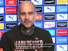Pep Guardiola is not looking to leave Man City just yet. DUGOUT