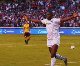 Franklin Guerra anotó de cabeza el gol de la victoria. DUGOUT