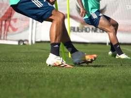 Com Rafinha em campo, Fla segue preparação para Brasileiro. DUGOUT