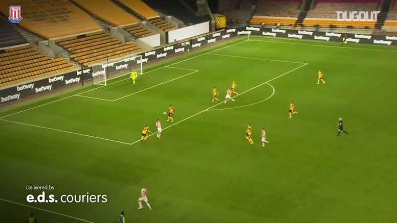 Stoke City got a surprise 0-1 victory at Wolves in the Carabao Cup. DUGOUT