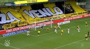 Ajax hammer VVV-Venlo 13-0 to break Eredivisie record. DUGOUT