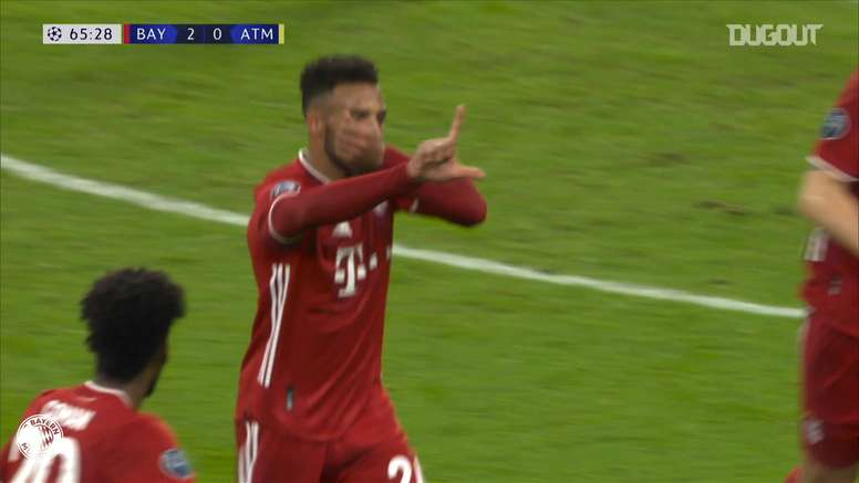 Tolisso scored a great goal for Bayern in the win over Atletico Madrid. DUGOUT