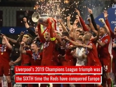 VIDEO: Liverpool's Six European Titles. DUGOUT