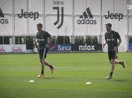 Cristiano Ronaldo volta a treinar na Juventus. DUGOUT