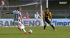 Roberto Pereyra put Juventus ahead in a meaningless game at Verona in 2015. DUGOUT