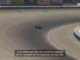 Tony Kanaan estreia na Fórmula Indy virtual pelo Corinthians. DUGOUT