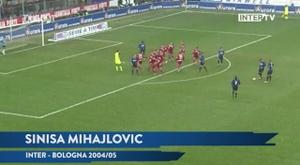 Le migliori cinque reti dell'Inter contro il Bologna. Dugout