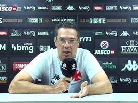 Luxembrugo analisou a derrota do Vasco para o Coritiba. DUGOUT