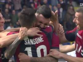 Bologna have scored some great goals v Cagliari over the years. DUGOUT